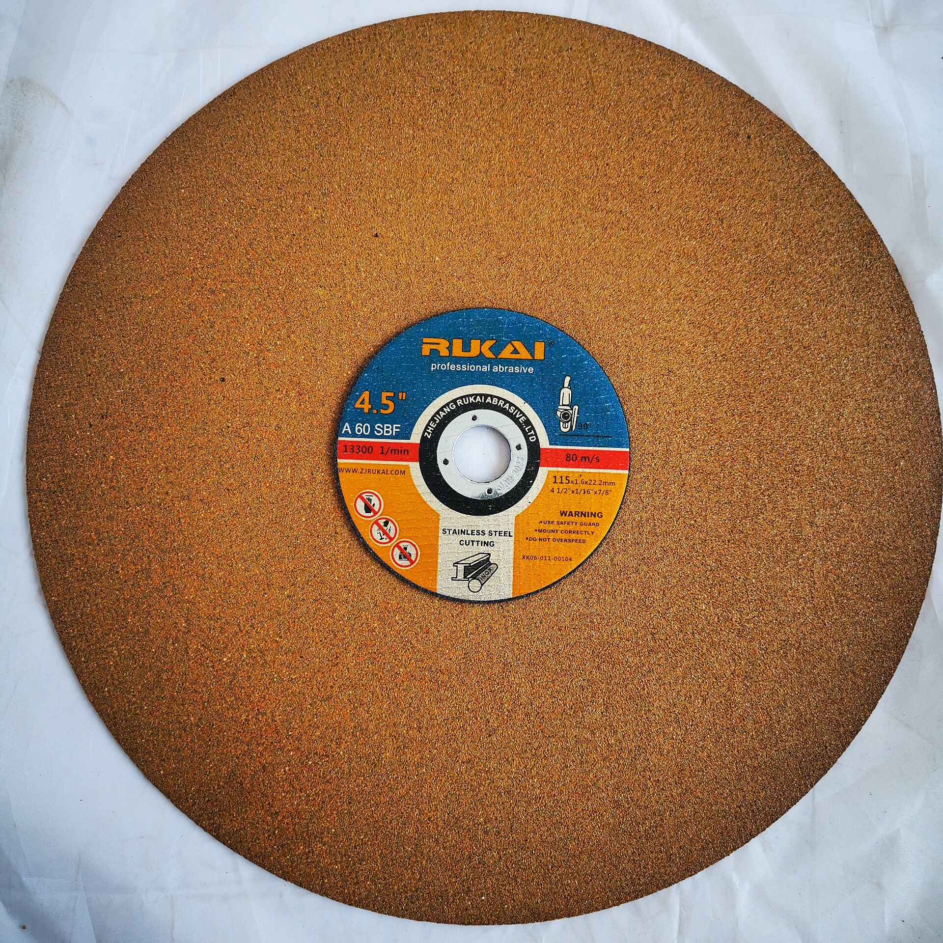 Rukai 16 Inch Resin Bond Abrasive Cutting Wheel