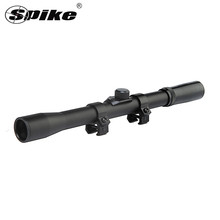 Spike 4X20 Telescopico In Plastica <span class=keywords><strong>Giocattolo</strong></span> <span class=keywords><strong>Scope</strong></span> Sight Caccia Scopes per 22 caliber Fucili e Pistole ad Aria