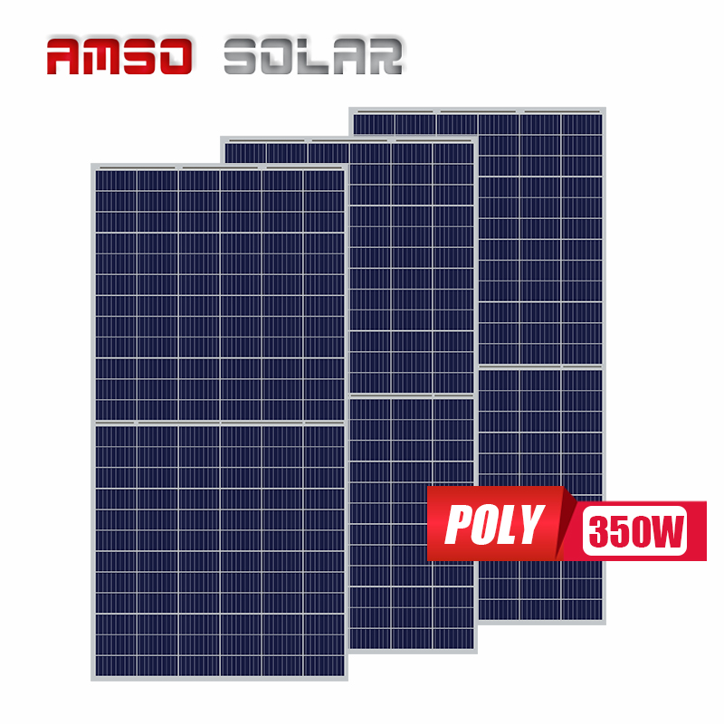 Roof high efficiency solar 345w panel 144 cell 345W half cell solar panel 345 watt solar panels from China