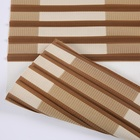 Polyester string curtain vertical blinds sun shading roller zebra blinds