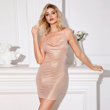 SHEIN Partie Camisole <span class=keywords><strong>Sexy</strong></span> Moulante Paillettes <span class=keywords><strong>Robe</strong></span> Mini Tube Wrap Robes <span class=keywords><strong>de</strong></span> <span class=keywords><strong>Club</strong></span>
