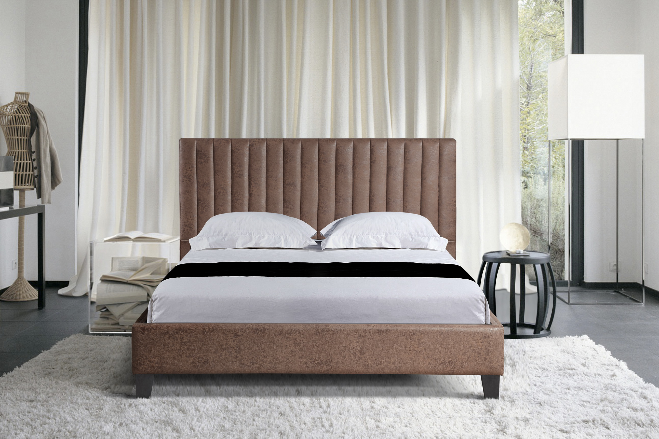 High Quality Commercial Hotel Furniture Queen Size Leather Soft Bed With Tall Headboard Buy Hotel Furniture Queen Size Bed Soft Bed With Headboard Product On Alibaba Com
