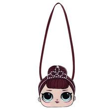 Новый рюкзак на плечо LOL Surprise Dolls для девочек с милым аниме принтом героев мультфильмов, модная маленькая сумка, подарки, 2019(Китай)