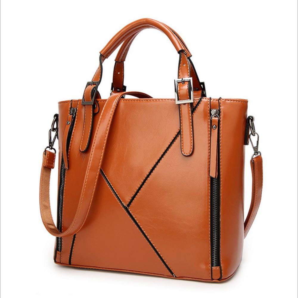 100% женские сумки из натуральной кожи 2020 новая сумка Европейская сумка через плечо дизайнерская модная женска сумка(Китай)