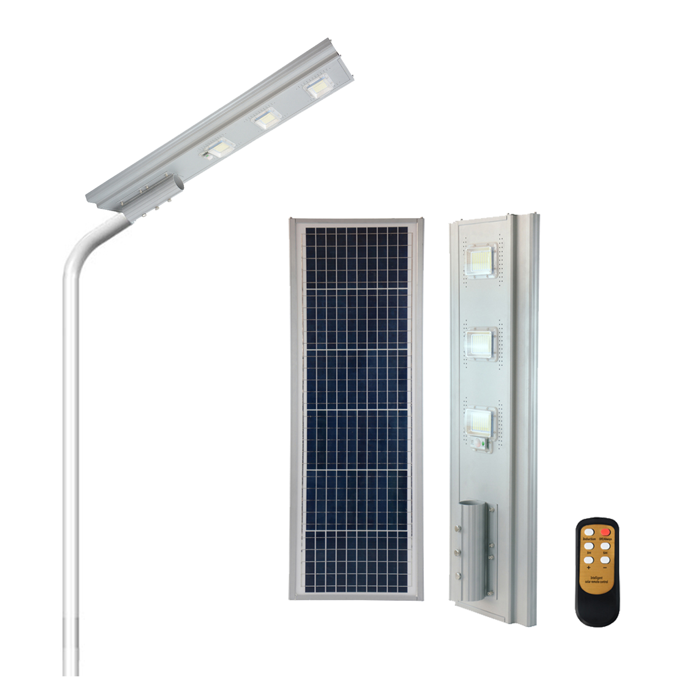 Solar Panel Charged Battery Backup 50w 100w 150w 200w Ip65 Waterproof Outdoor Solar Led Street Lights Lighting Buy Solar Led Street Lights Solar Street Light Solar Light Outdoor Product On Alibaba Com