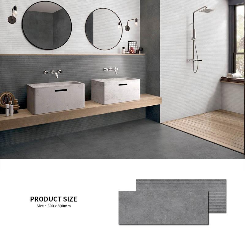 Bolande foshan gris oscuro Interior acabado mate cocina porcelana piso de baño de azulejos, baldosas y azulejos de pared