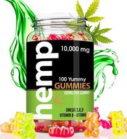 CBD gummies in herbal supplement with omega and vitamins hemp gummies