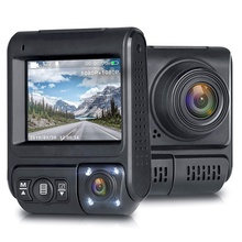 The First 4K 2.35 Inch Display Dual Lens Camera GPS Wifi Car Dash Cam