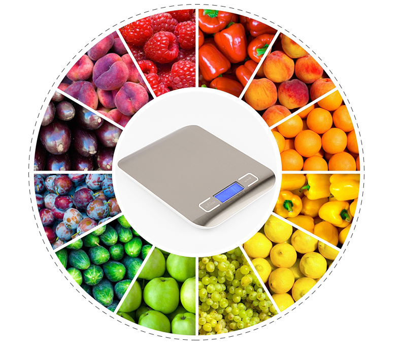 Digital Food Scale 10Kg x 1g Electronic Balance Kitchen Scales Weight Scale With Good Quality