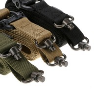 Adjustable Tactical 2 Point Rifle Gun Sling with FAST-LOOP and 1.25 inch Webbing for Hunting Sports and Outdoors