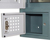 Metal electronic key storage box cabinet system with digital lock
