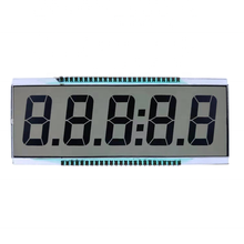 Aangepaste Monochrome 5 Digit 7 Segment TN <span class=keywords><strong>LCD</strong></span> <span class=keywords><strong>Display</strong></span> Voor Benzine Pomp/Brandstof Dispenser/Gas Station