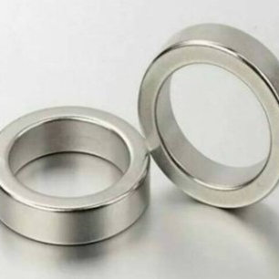 Permanent Magnet round ring about Diameter 15x3mm Thick M4 Screw Countersunk Hole Neodymium Rare Earth Permanent Magnet