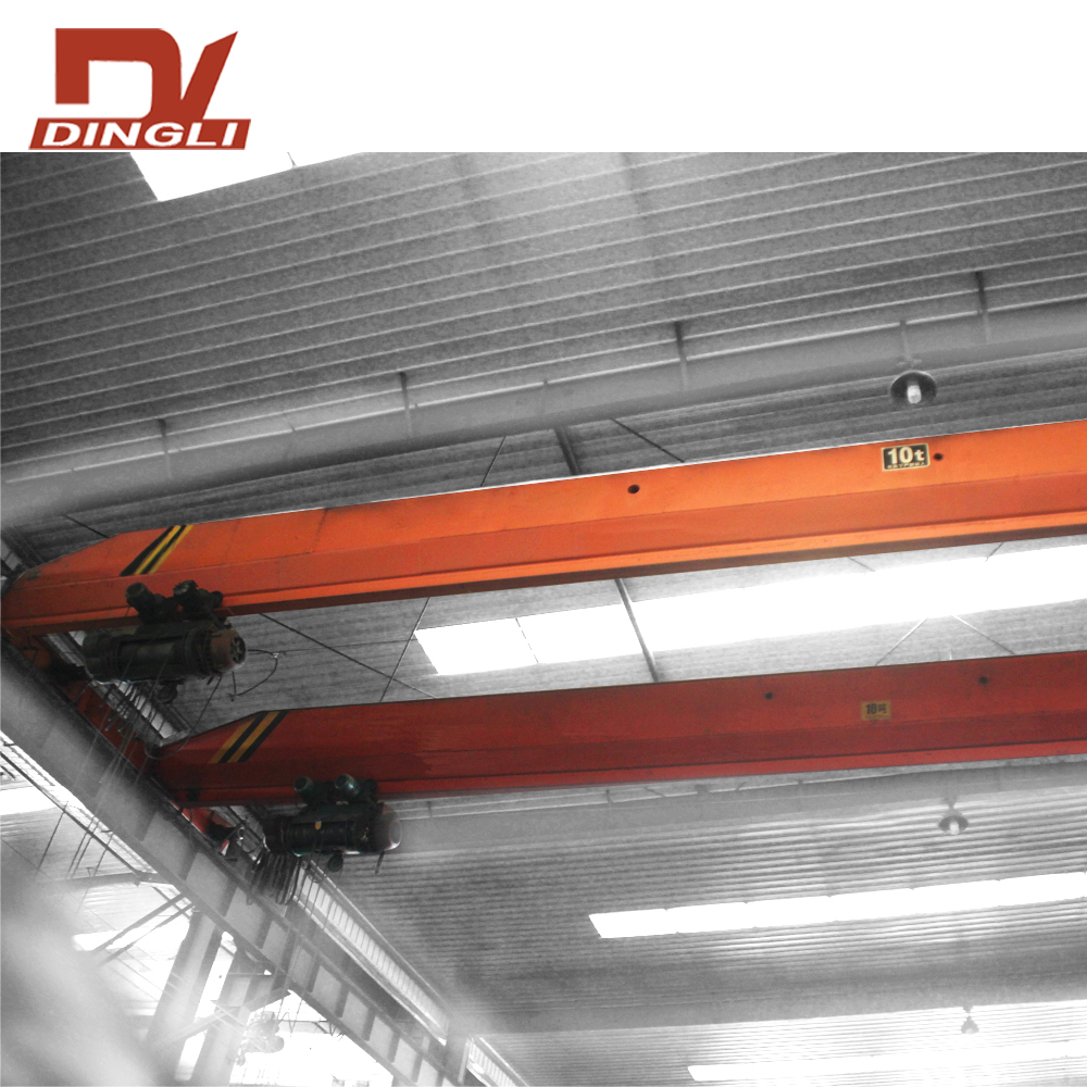 Indoor Double Beam Overhead Lifting Kraan Machine Prijs