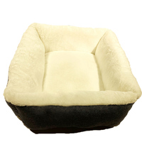 wholesale pet supplies custom soft felt sleeping plush stuffed cat bed with high quality