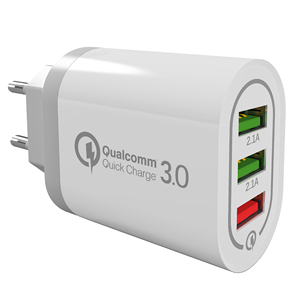 Hot Selling USB Charger quick charge 3.0 for iPhone X Fast Wall Charger for Samsung S9 Universal Fast EU US Charger