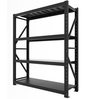 CE Certificated Warehouse Detachable Metal Medium Duty Beam Drive In Pallet Storage Rack System Heavy Duty Rack
