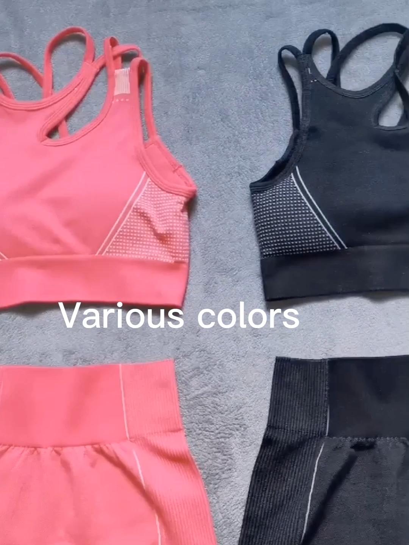 Nuovo pantaloncini da ginnastica di usura delle donne di sport palestra di stirata delle donne senza soluzione di continuità bicchierini di yoga di forma fisica di yoga pantaloni