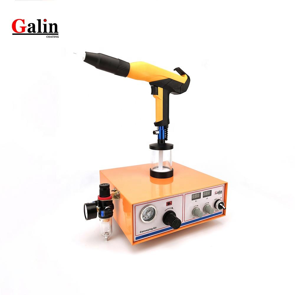 Galin Small Lab / Test Electrostatic Powder Coating machine GalinL-02C