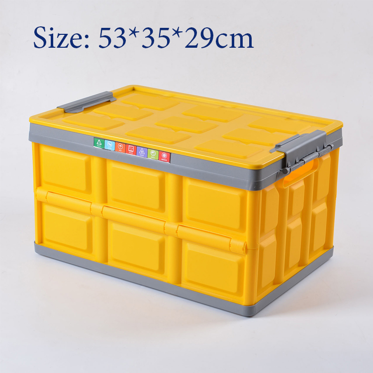Ящик для хранения в багажник автомобиля сумка органайзер большой емкости Многофункциональный полипропиленовый материал органайзер для сп...(Китай)