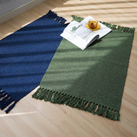 New designs durable woven rug pure colored woven living room rug caperts pretty car floor mats
