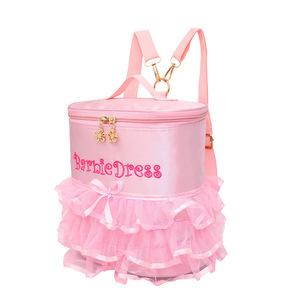Waterproof Custom Shoulder Nice Cute Princess Barbie School Bags For Children Girl