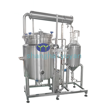 Between 100-300 Liters stainless lemon/hemp/lavender/peppermint Essential oil Extraction Equipment For production high quality