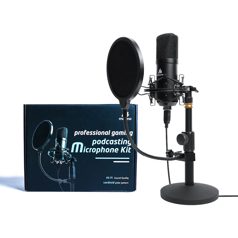 Desktop Metting bm 800 Microphone Style Metal Voice Recording Usb Condenser Conference Microphone