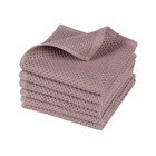 Kitchen Cloths Towel Water Absorbent Waffle Weave Cotton Small Kitchen Dish Cloths Tea Towel