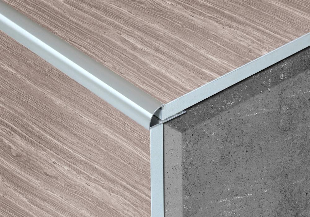 Краевая Плитка Оптом серебряный цвет алюминиевая плитка отделка
