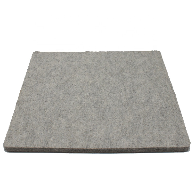 100% Grey Wool Pressing Pad Customized Size 1/2 inch thick 17&quot; x 14&quot; Wool <strong>Ironing</strong> <strong>Board</strong>