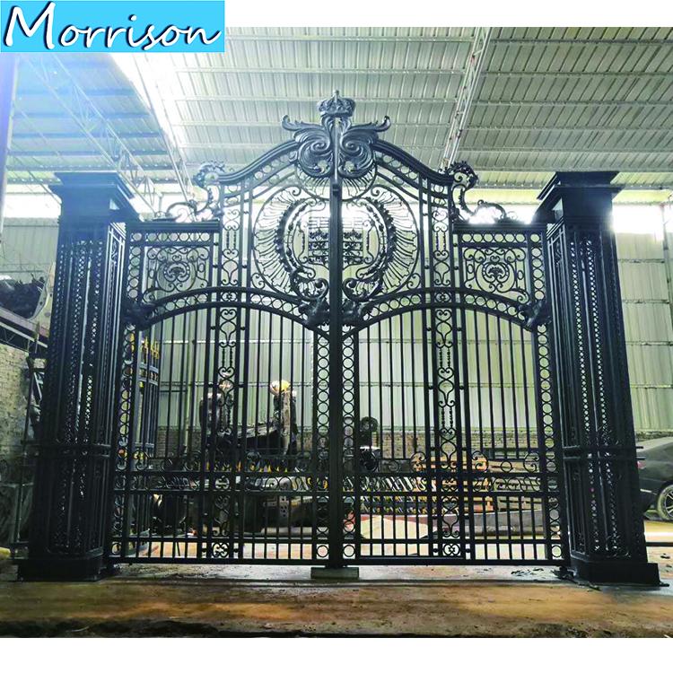 2020 Modern Gates Designs Cast Aluminum Gate Wrought Iron Gates