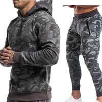 2019 latest customize sweat suit camouflage sweat suits men jogging suits wholesale