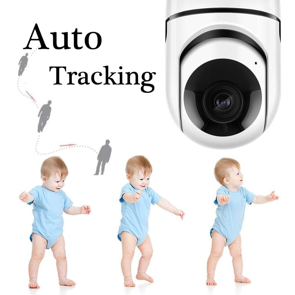 1080p 2MP mini security smart home Two-way Audio IP WiFi cctv camera indoor with Motion Detection