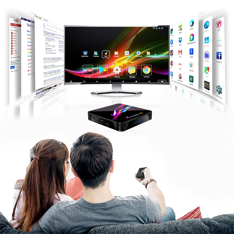 China supplier Topleo X88 Pro X3 Amlogic S905X3 dual wifi support smart tv android set top box