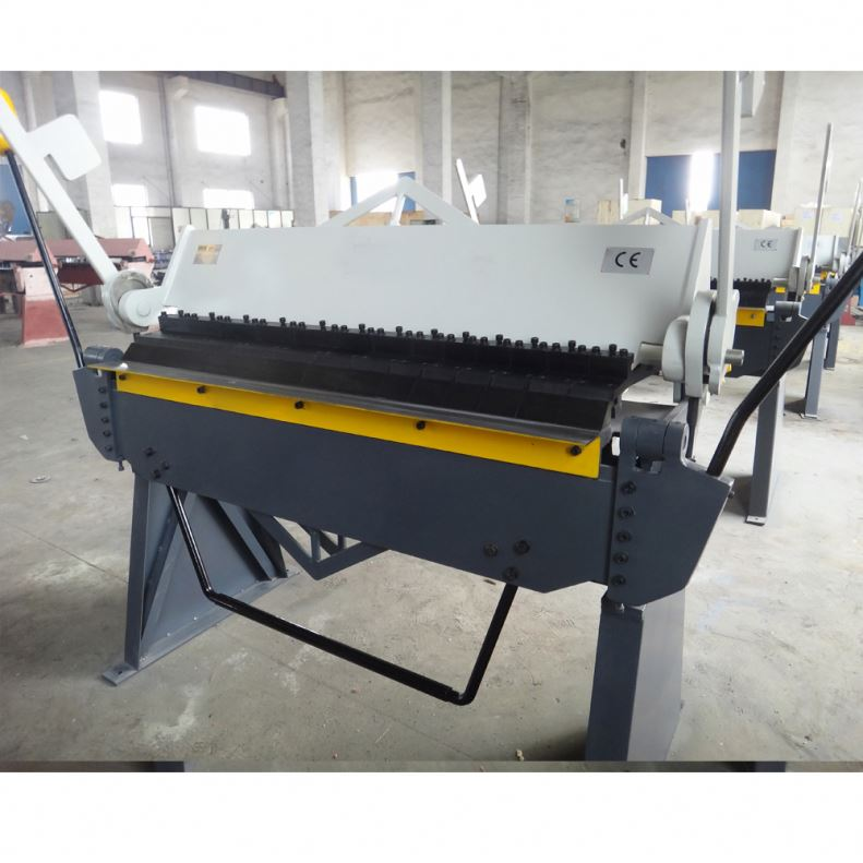 Pan box making machine manual folder hand operate press brake