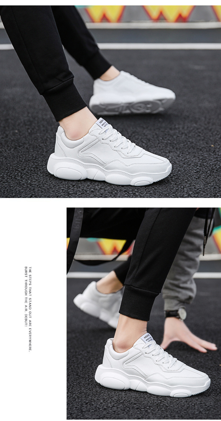 Custom fashion pu slip-on men casual shoes in stock men's sports customize shoes men