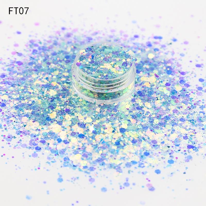 Fairy tear Wholesale bulk glitter cosmetic grade chunky glitter for nail