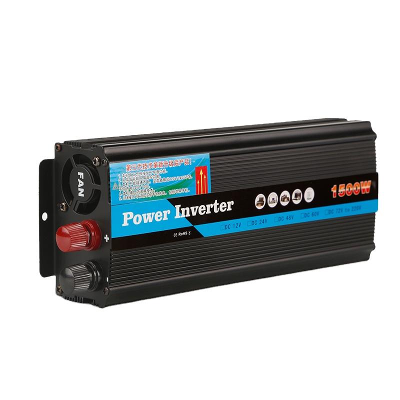 Best quality off grid 1000w 1500w 2000w 3000w 12 volt dc to 220 volt ac 220v 50hz 110v 60hz inverter