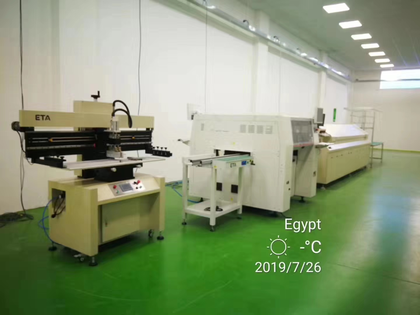 Good Quality SMT Machinery SMD LED Production Line for LED Lights
