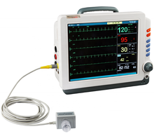Prezzo competitivo 12.1 pollici display multiparametrico medical monitor paziente con capnograph