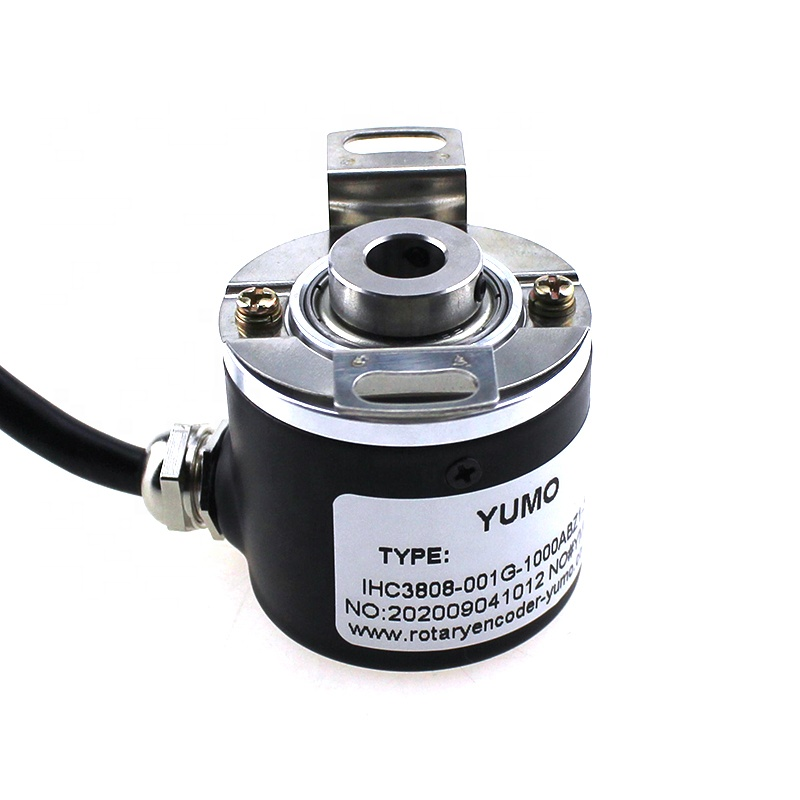 YUMO IHC3808 1000pulse 8mm Half-Hollow Shaft <strong>Rotary</strong> <strong>Encoder</strong>