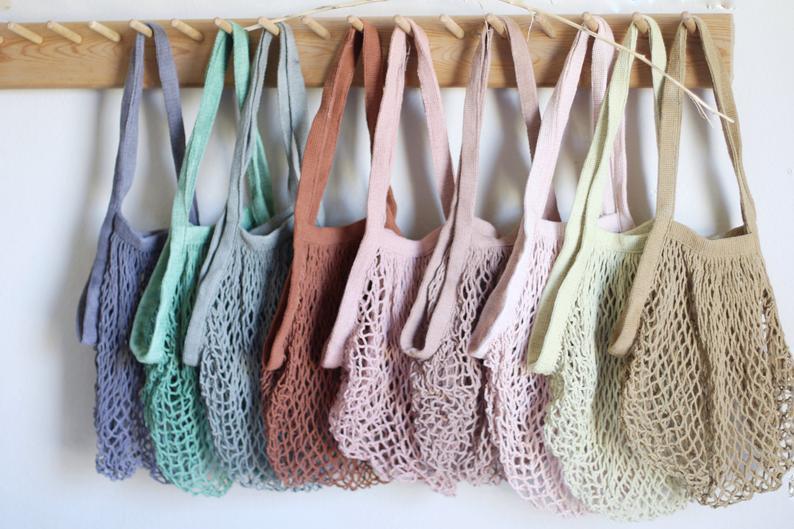 Crochet Eco-Friendly Reusable Market Bag