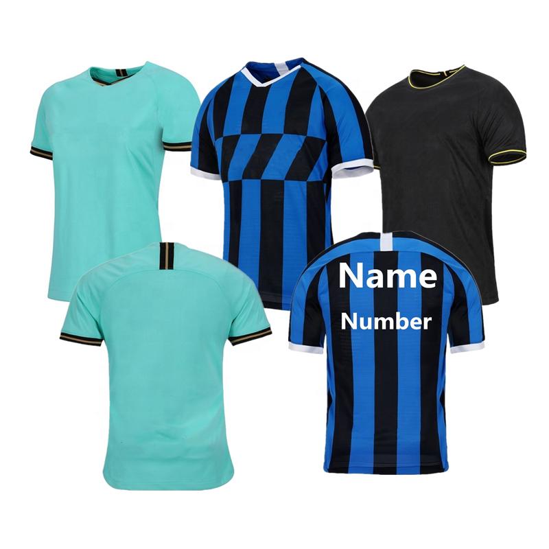 Thailand 2019 2020 Milan Soccer Jerseys Men's Sports Shirt Maillot de Foot