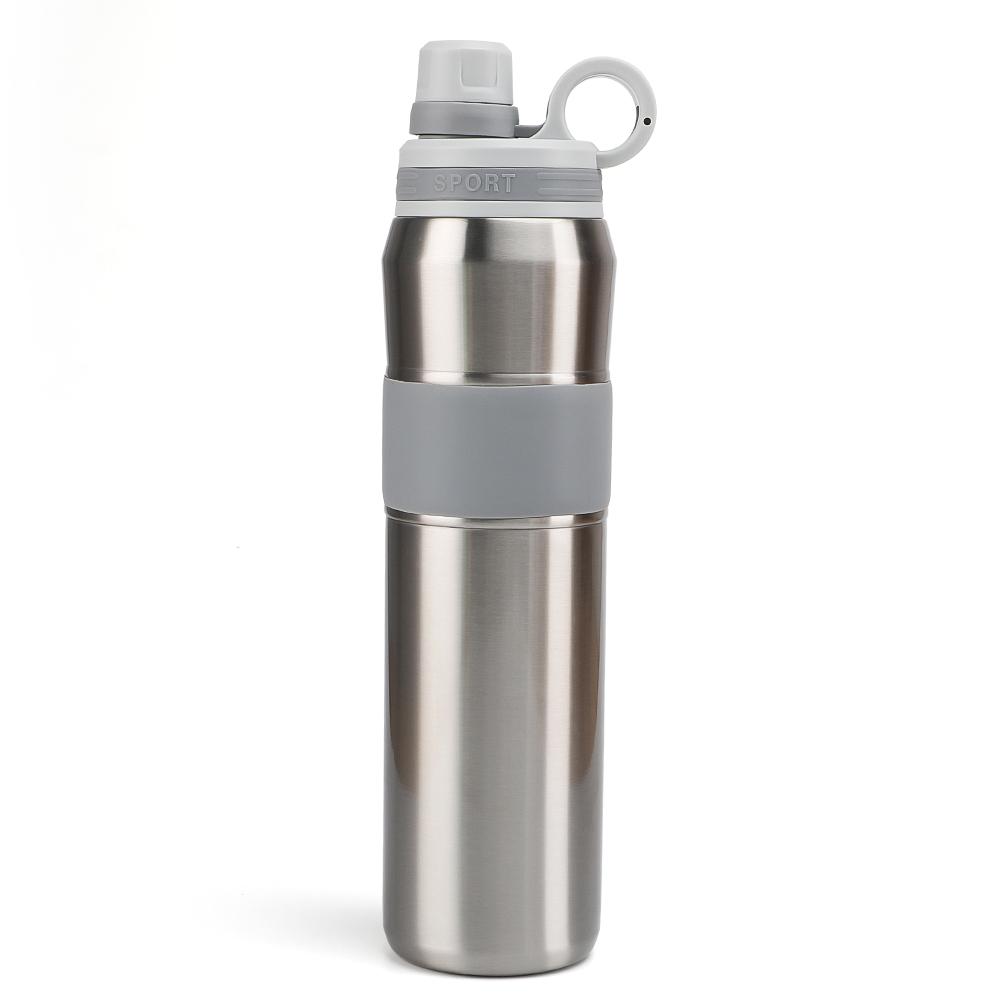 สูญญากาศสแตนเลสสตีล,ผนังคู่ THERMOS Flask ช่วยให้น้ำเย็นสำหรับ 24 ชั่วโมง