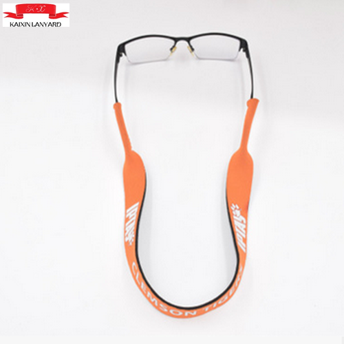 Custom printed sunglass neoprene strap