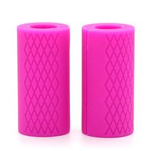 2 шт. штанги для Штанги Гантели толстые ручки для тяжелой атлетики для эффективной работы аксессуары Прямая поставка(Китай)