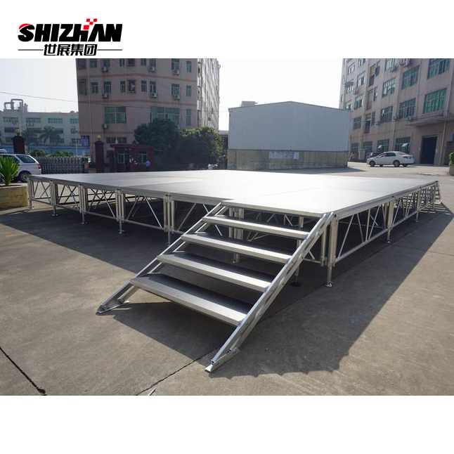 Manufacture Professional Outdoor Platform Cheap Aluminum Portable <strong>Stage</strong> For Sale