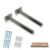Solid Steel Invisible Shelf Brackets Rustproof Blind Shelf Supports Floating Shelf Bracket with Screws