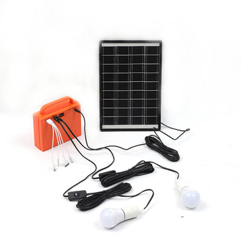 custom charging weatherproof lamp integrated outdoor solar energy system with blub